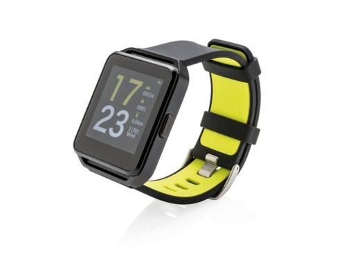 Bracelet connecté étanche avec écran couleur