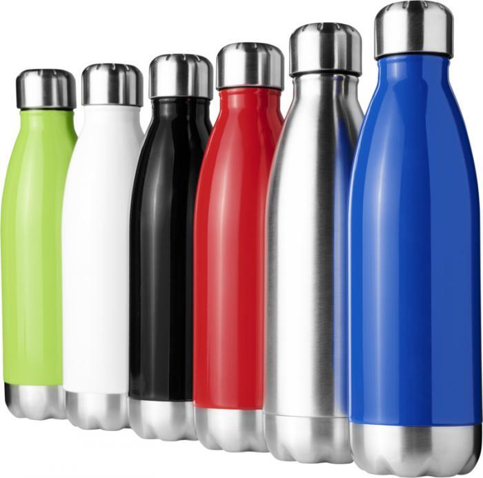 Limitons nos déchets plastiques ! Bouteille en acier inoxydable